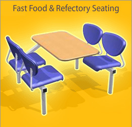 Fast Food & Refectory Seating